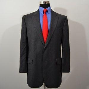 Jos A Bank 42L Sport Coat Blazer Suit Jacket Dark